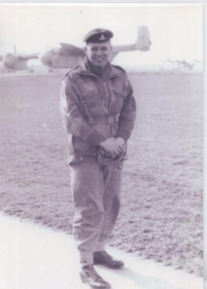 GEORGE AT RAF ABINGDON