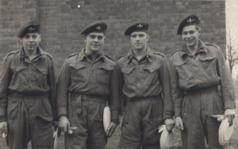 Derek 3rd from left Aldershot