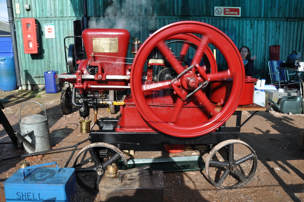 A classic example of a stationary engine