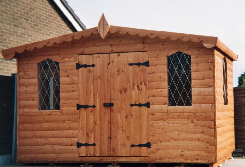 PRESTON LOG CABIN