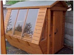 POTTING SHED SLIDING DOOR