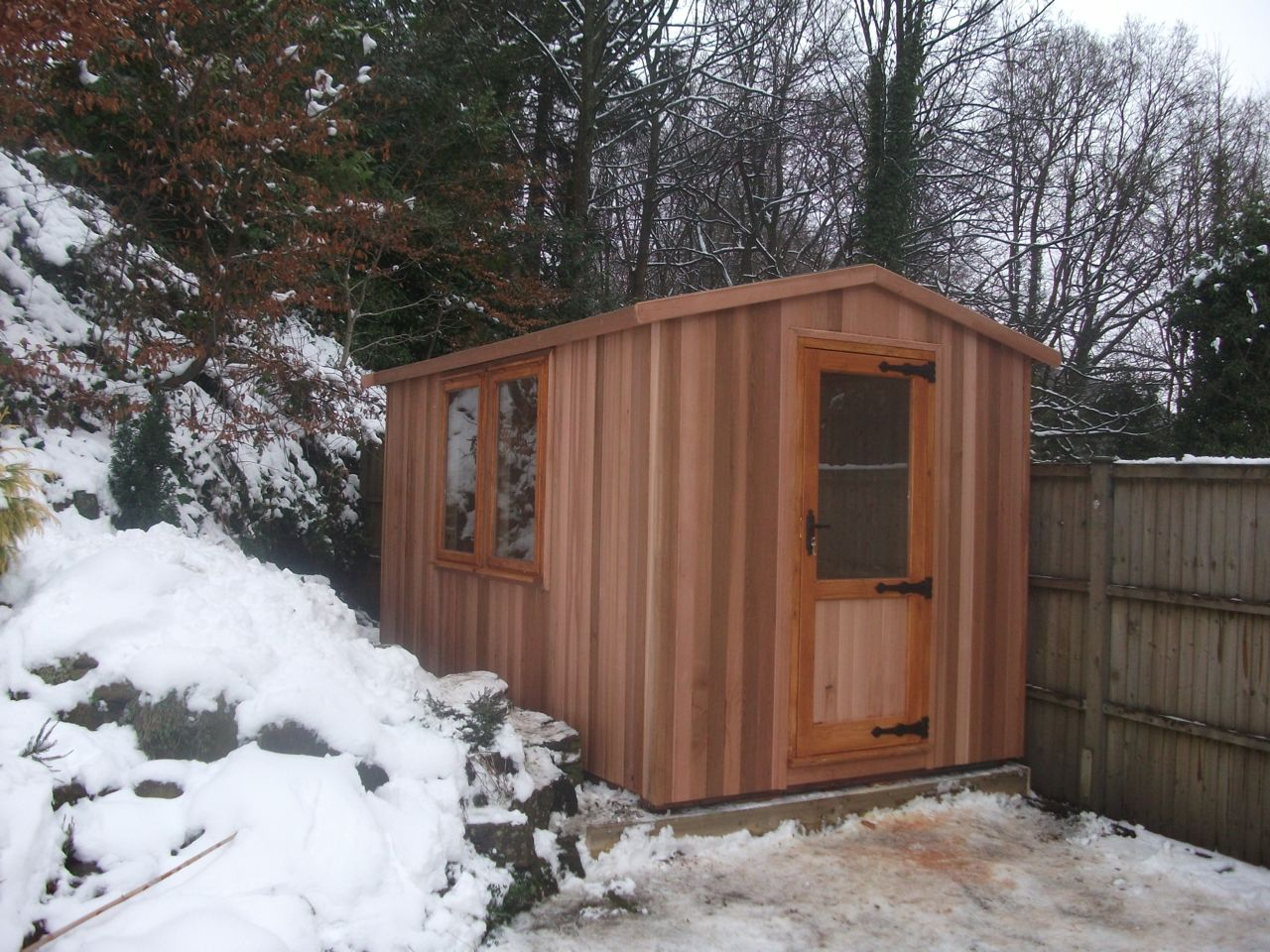 WESTER RED CEDAR WORKSHOP