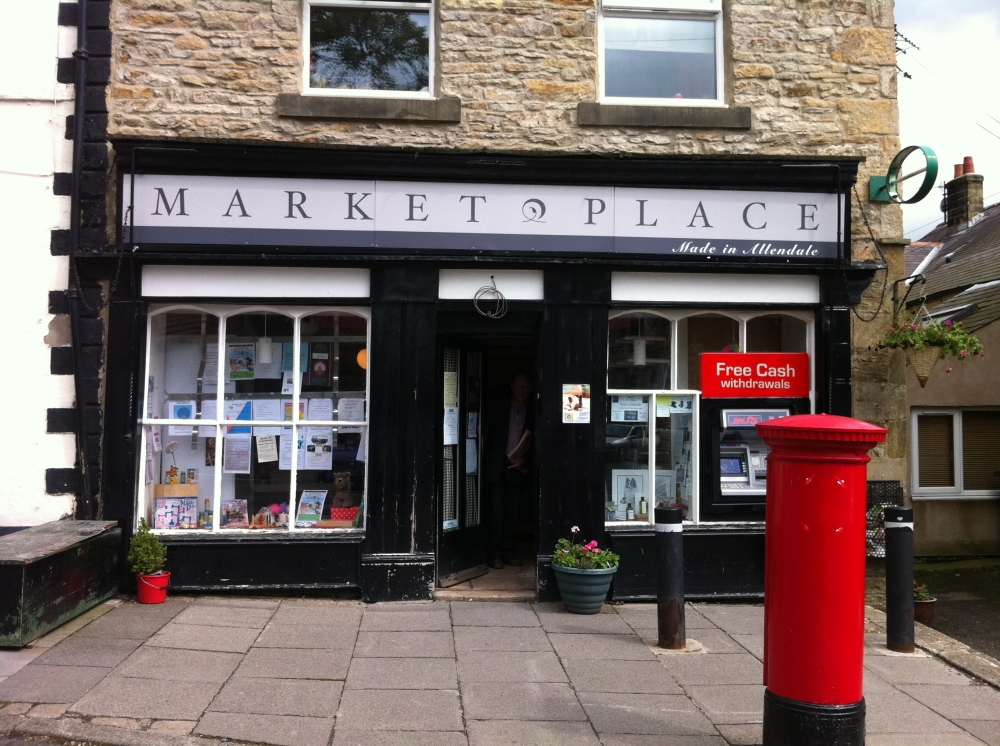 Post Office in Allendale Market Place, Northumberland