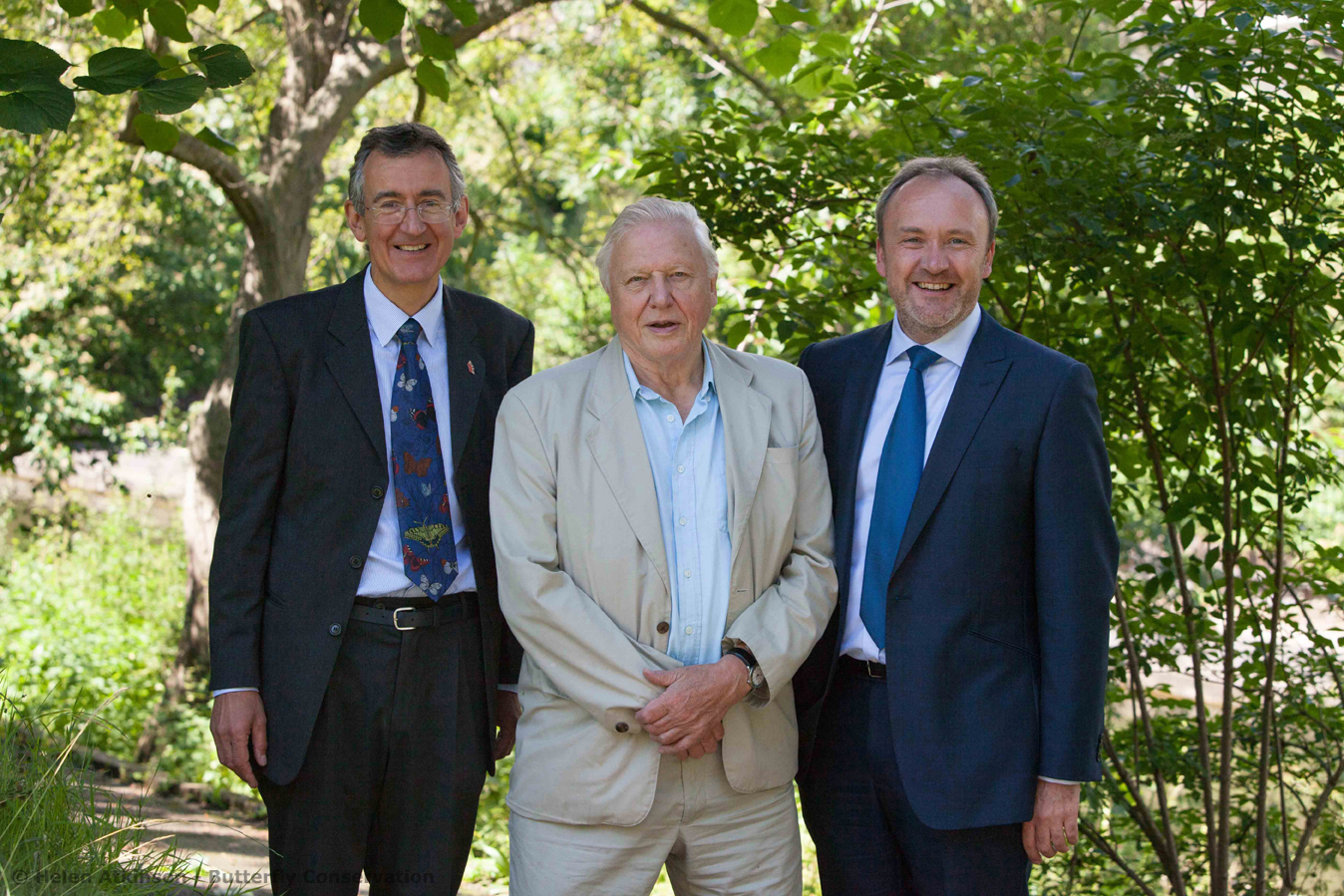 Dr Martin Warren Sir David Attenborough Richard Gillies