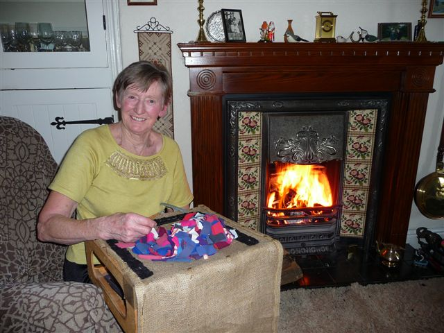 Rag-rug making
