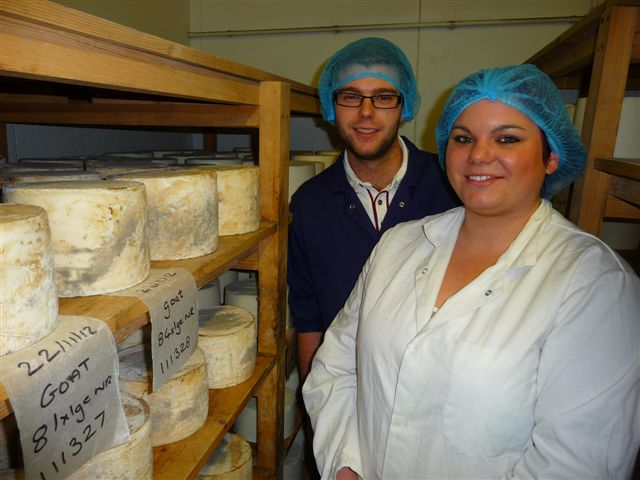 Brother and sister cheese-makers