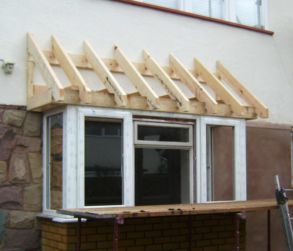 Bay window roof construction for Bay window construction details