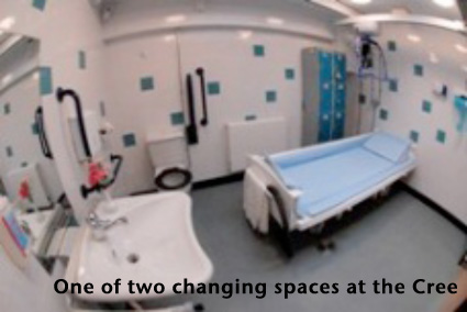 Cree changing facility