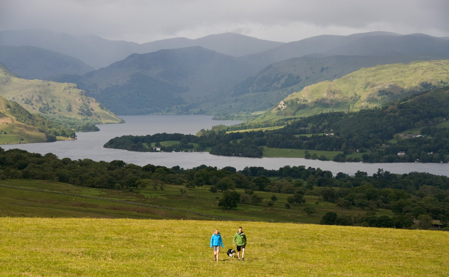 ullswater lake - The Marsh kelpie of Askham fell