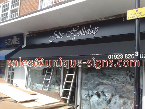 illuminated signs uk awnings canopies cafe barriers led menu boxes outdoor shop canopies shop sign hording board sign makers hertfordshire watford harrow ... & illuminated signs uk awnings canopies cafe barriers led menu boxes ...
