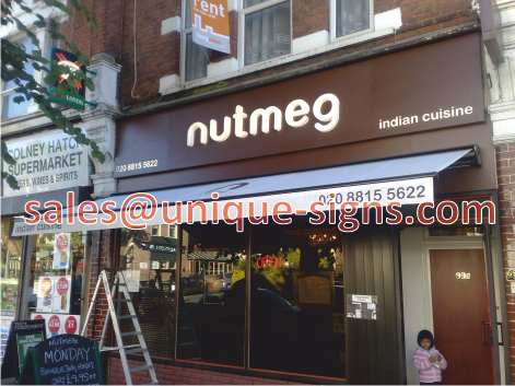 shop canopies u0026 sign writing & signs and canopies in st albans hertfordshire shop signs ...