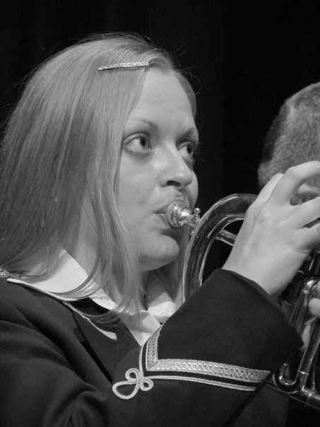 Shelley Bethan Morgan as Gloria in Brassed Off