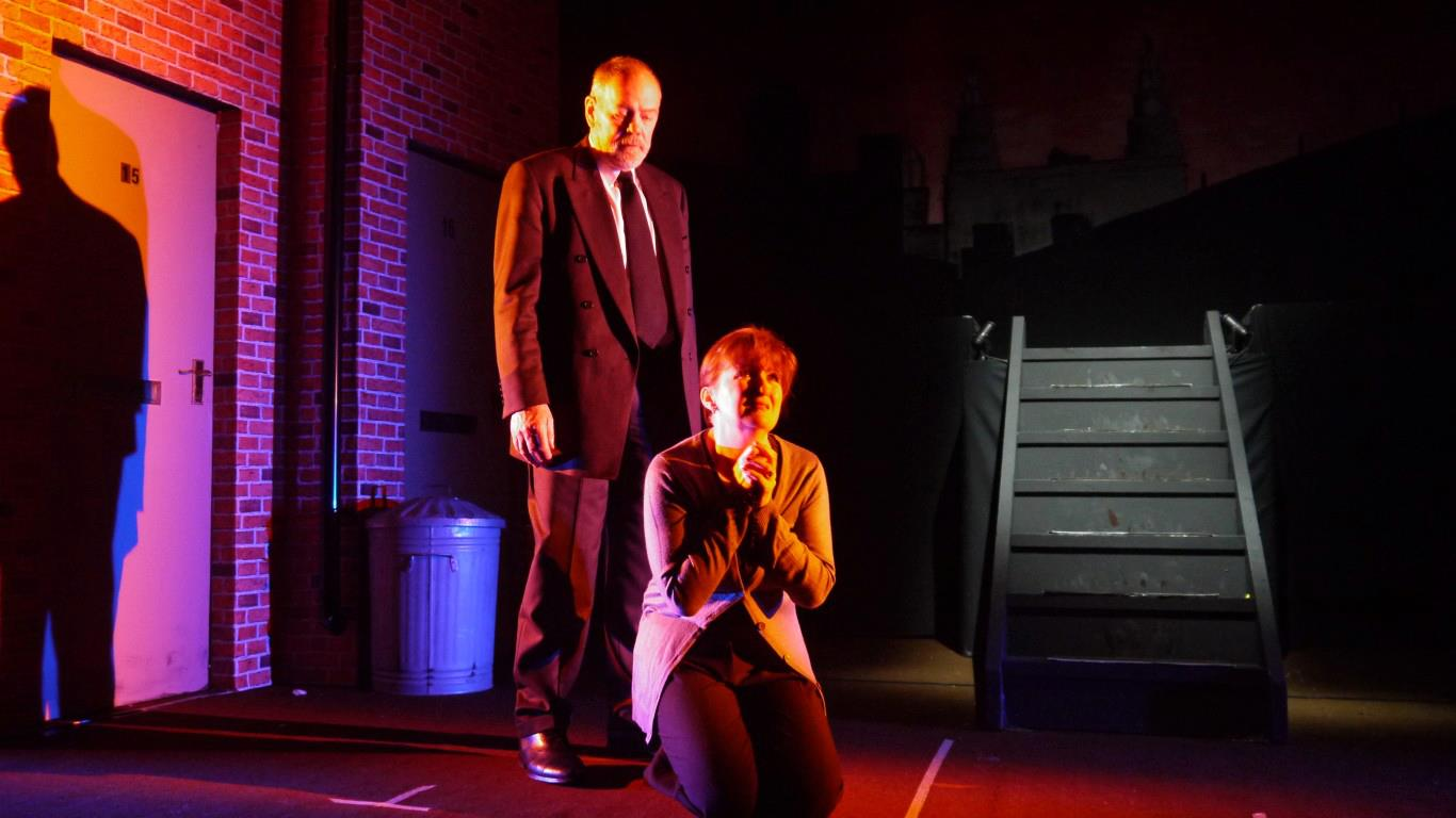 Graham J. Evans and Yve Price in Blood Brothers