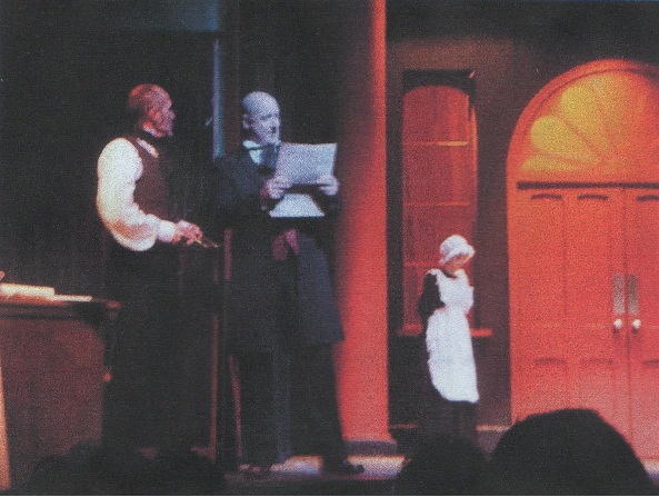Vic Mills and David Livingstone in Frost at the Westgate