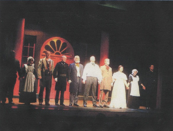 The cast of Frost at the Westgate