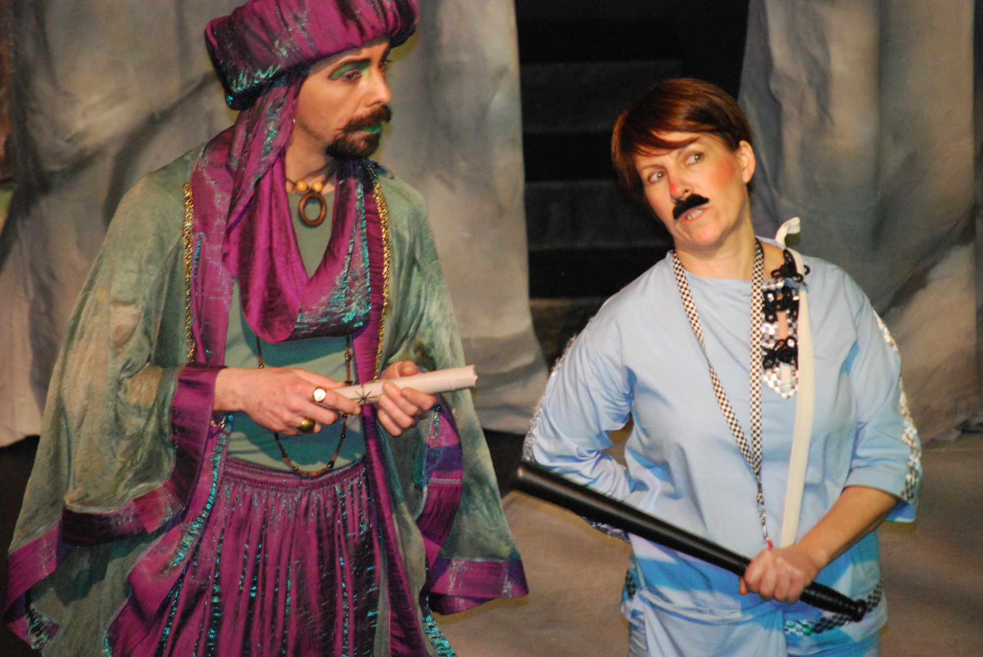 ALADDIN PERFORMED BY SALFORD ARTS THEATRE'S INHOUSE PROFESSIONAL COMPANY