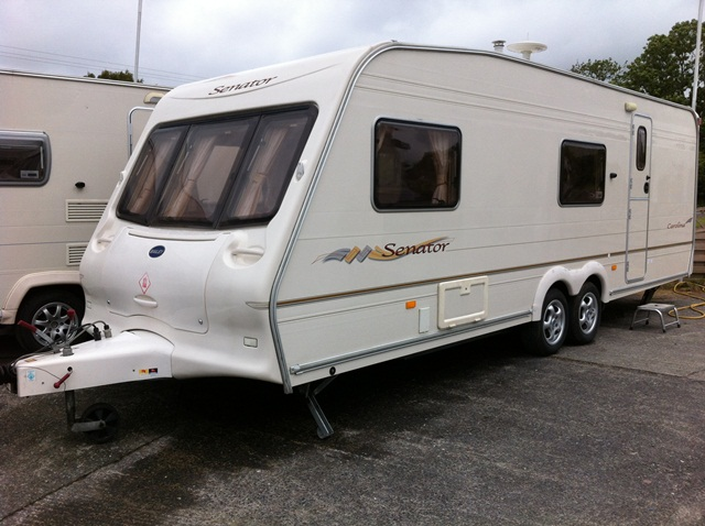 Luxury Used Touring Caravans For Sale  4 Berth  10995  Bailey