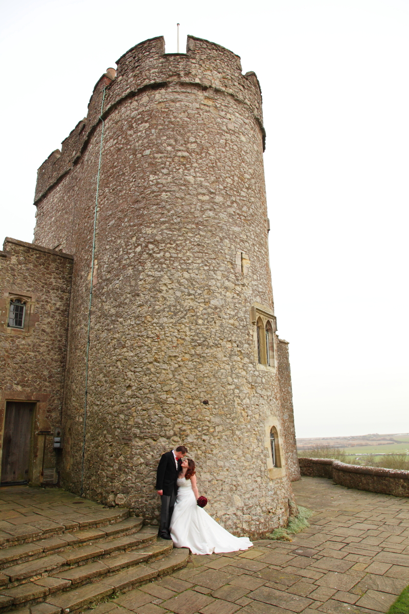 Wedding Photography at Lympne Castle by www.eternaldreams.co.uk