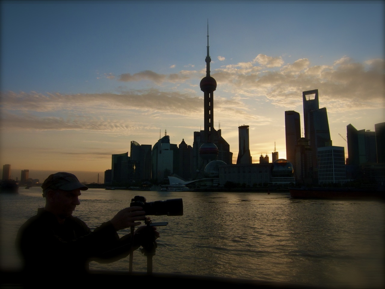 Sunset on The Bund