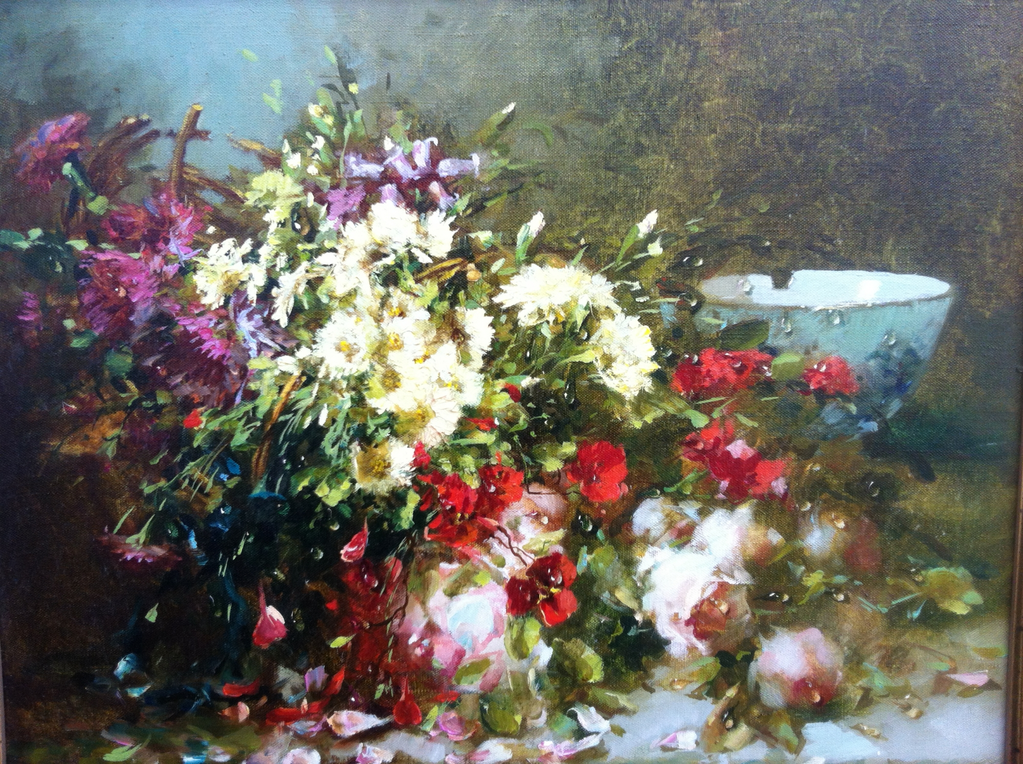 Irina Fedorova 'Flowers in a Basket'
