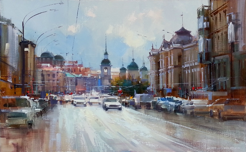 Alexey Shalaev 'Traffic on Prospect Mira'