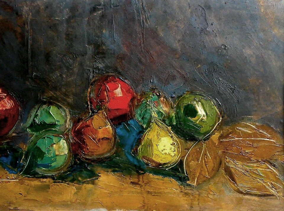 Artur Harutyunov 'Still Life Fruits'