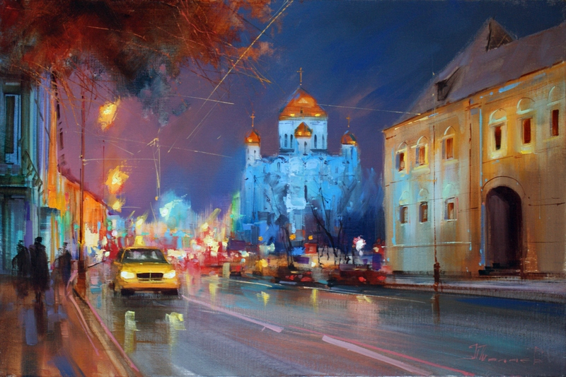 Alexey Shalaev 'Lights of Prechistenka'
