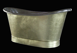 Gold copper bath