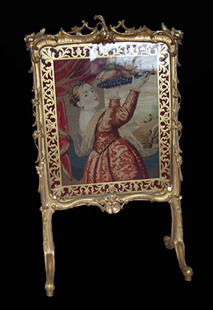 English fire screen