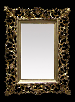Italian carved wood frame restored by Ruth Tappin