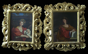 italian carved wood picture frames