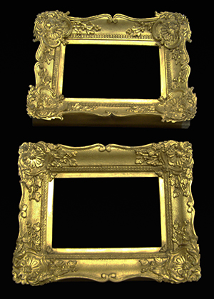 Anitque picture frames
