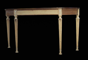 English wooden table