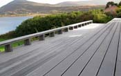 plastic decking grooved