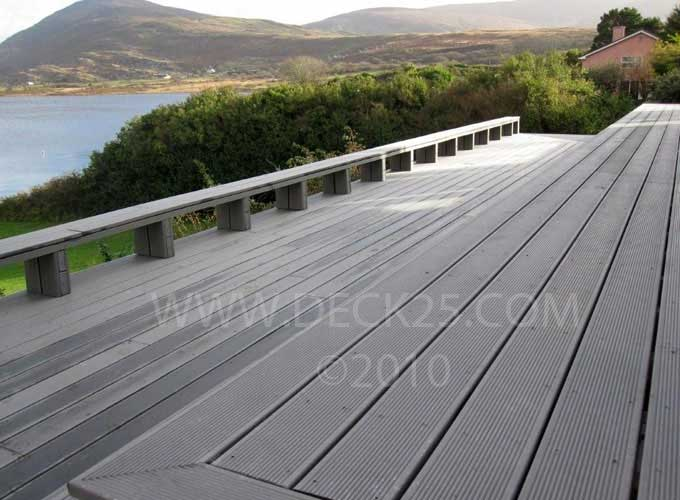 decking NI grooved plastic decking