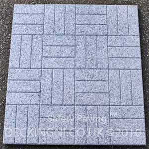 patio paving grey