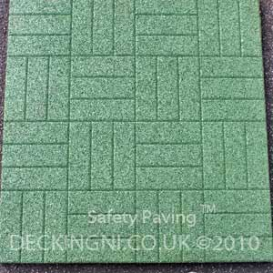 patio paving green
