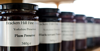 Jams, Jars and Pickles at Spring House Farm Shop