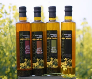 Yorkshire Rapeseed Oil at Spring House Farm Shop