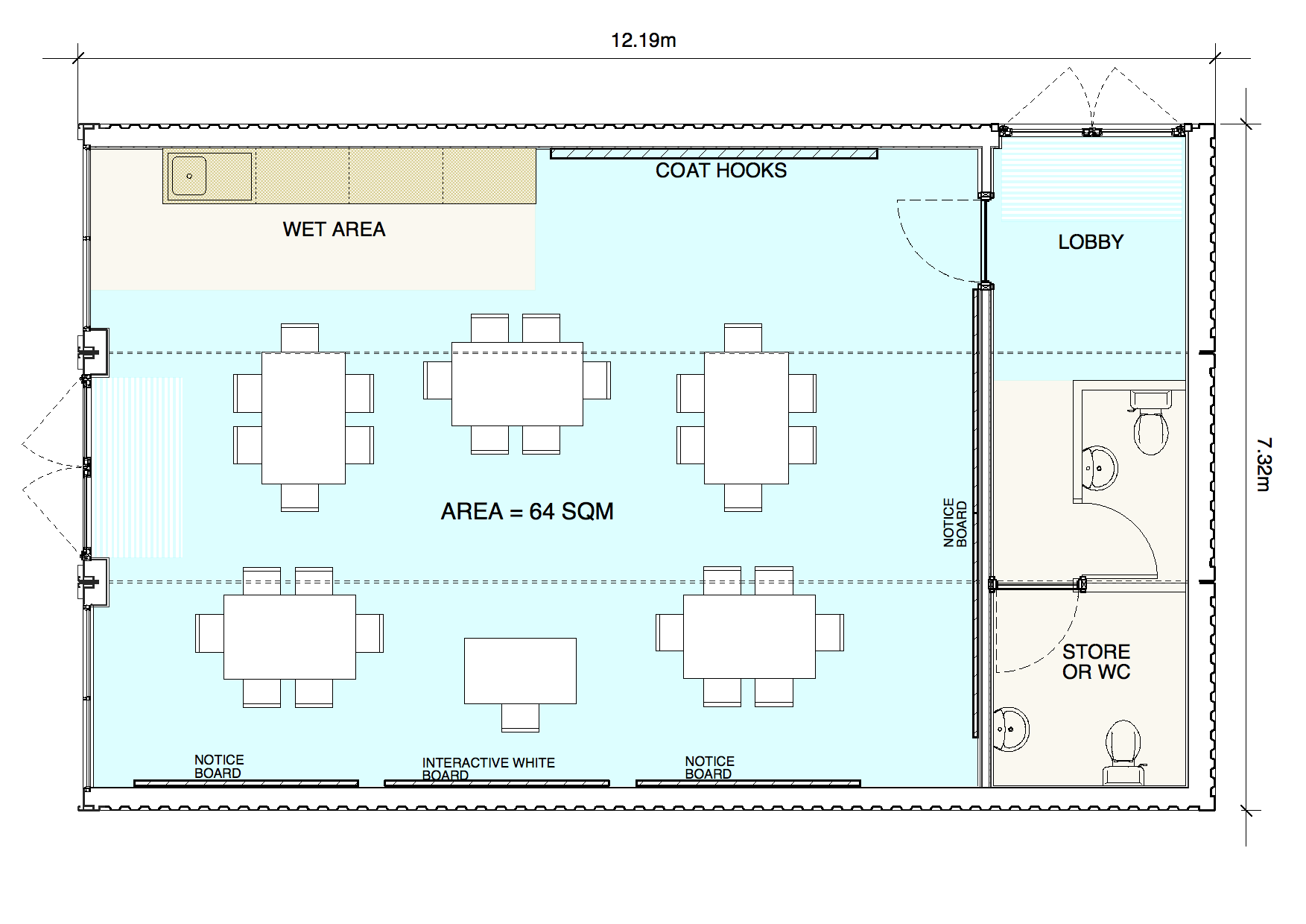 Modular Classroom Dimensions ~ Modular home typical sizes