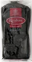 Renshaw Regalice Ready to Roll Icing 250g Pack - Black