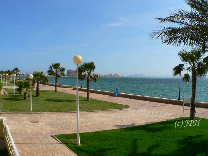 Promenade on The La Manga Strip - beach properties for sale in Spain