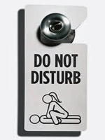 do not disturb pic